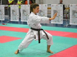 I podi della 48ª Coppa Shotokan