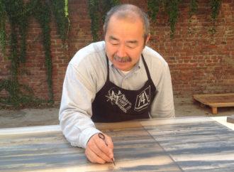 M° Matsuyama, dal Karatedo all'arte del Ki su tela