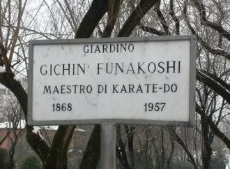 Un giardino pubblico per il M° G. Funakoshi