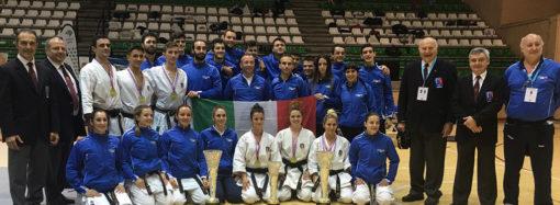 5 ori per la nazionale italiana Fikta–Isi da Cadiz